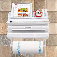 Кухонний диспенсер Triple Paper Dispenser № А55 Білий