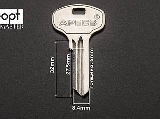 Заготовка ключей APECS-4 / AP2D