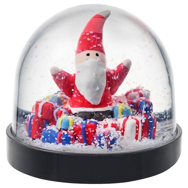 IKEA, ВИНТЕРФЕСТ, Снежный шар, Святой Николай, 7,5 см, (404.378.58)