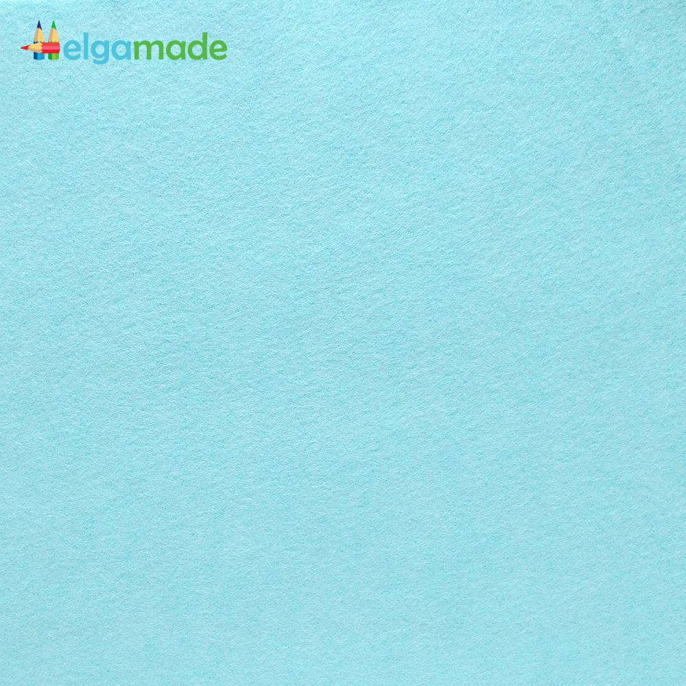 Фетр американский МАНЯЩАЯ АКВА, 15x23 см, 1.3 мм, полушерстяной мягкий