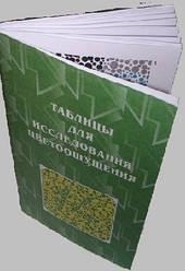 ТР Полихроматическая таблица Рабкина Е. Б. для исследования цветоощущения