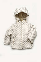 Куртка для малышей ТМ Модный Карапуз демисезонная беж 03-00841 / 80, 86 80