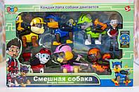 """Игровой набор """"DOG SWAT: Щенячий Патруль. Герои-спасатели"""" (7 героев, Радер, Маршал, Гонщик, Крепыш, Рокки, Скай, Зум)"""