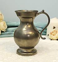 Оловянный декораивный кувшинчик, молочник, пищевое олово, Германия, фото 1