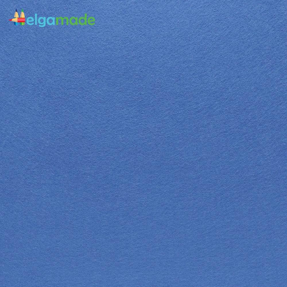 Фетр американский НОРВЕЖСКИЙ СИНИЙ, 31x46 см, 1.3 мм, полушерстяной мягкий