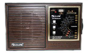 Портативный радиоприемник Golon RX-9933UAR Brown, фото 2