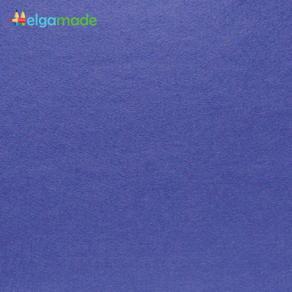 Фетр американский ЧЕРНИЧНЫЙ СИНИЙ, 23x31 см, 1.3 мм, полушерстяной мягкий