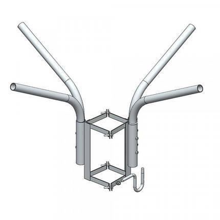 Кронштейн четырёхрожковый с крюком KR4k 400/51-15 ET ElectroTorg (ЭлектроТорг), фото 2