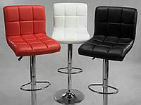 Барный стул Hoker Monro с регулированием высоты и поворотом сидения Эко кожа