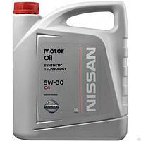 Масло моторное синтетическое Nissan Oil 5w-30 C4