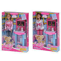 """Кукла 99094 """"Anlily"""" ветеренар, 2 вида, с аксес, в коробке"""