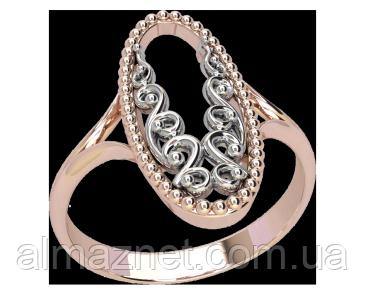 Золотое кольцо без камней Герцогини