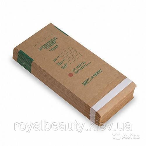 Крафт-пакеты для стерилизации. 75 х 150 (100 шт).