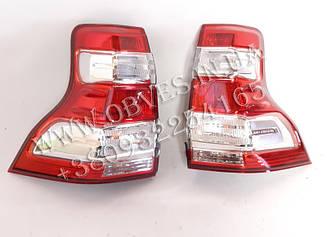 Задние фонари Toyota Land Cruiser Prado 150 (к-т 2шт)