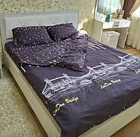 Качественное постельное белье Большой город, евро размер