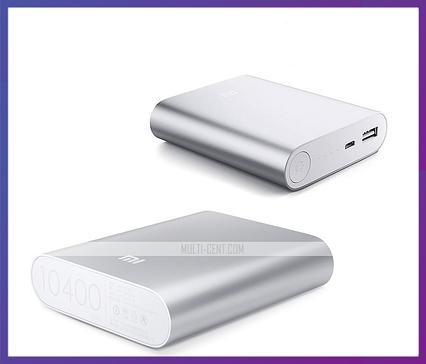 Внешний аккумулятор Xiaomi Mi Power Bank 10400 mAh, фото 2