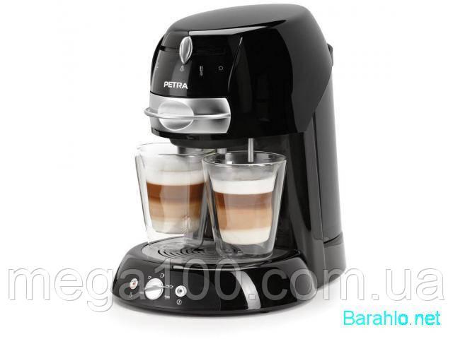 Кофемашина, кофеварка Petra KM42.17 легко сделать кофе, латте , капучино, эспрессо