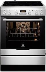 Кухонная плита электрическая Electrolux EKC 96430 AX — с Конвекцией и стеклокерамикой
