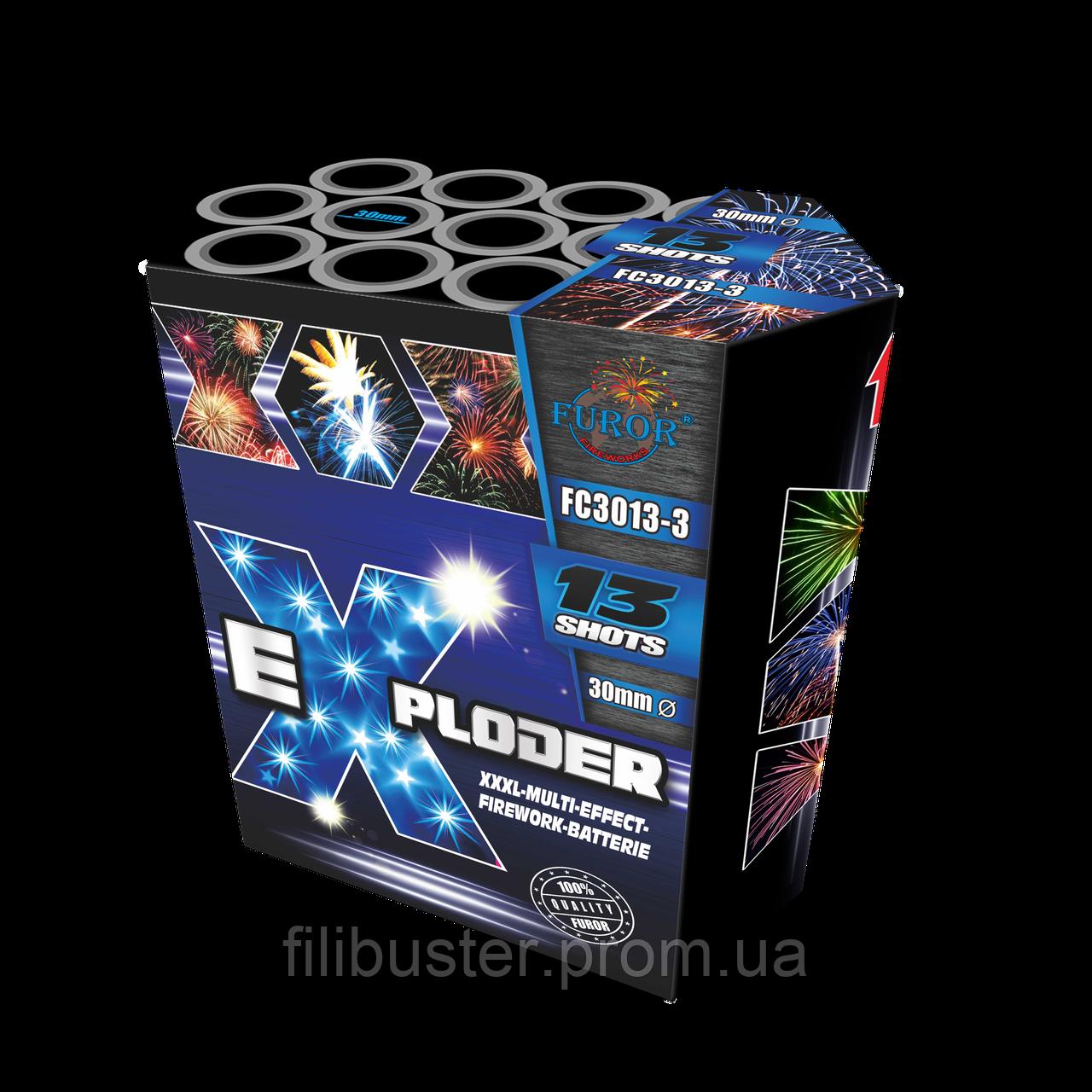 Салют Exploder 3 на 13 выстрелов