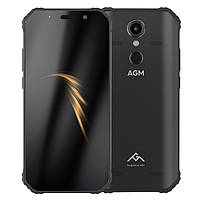 AGM A9 black 4/64Gb / IP68 / Гарантия 1 Год!