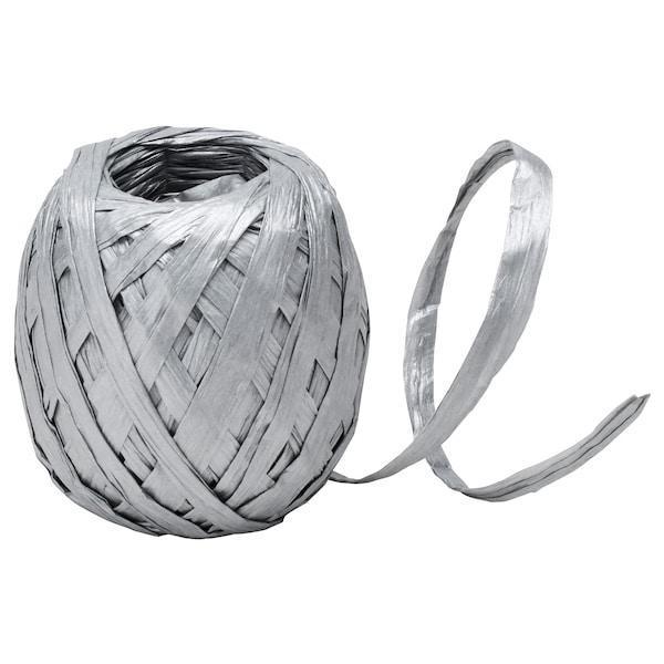 IKEA, ВІНТЕР 2019, Стрічка, срібло, 20 м, (204.346.34)