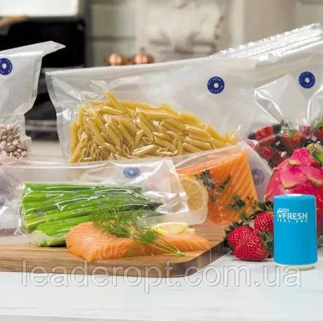 [ОПТ] Кухонний вакуумний пакувальник їжі та продуктів Vacuum Sealer Always Fresh.
