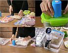 [ОПТ] Кухонний вакуумний пакувальник їжі та продуктів Vacuum Sealer Always Fresh., фото 8