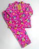 Пижама детская 4-026 Киндер махра 26-28 размеры