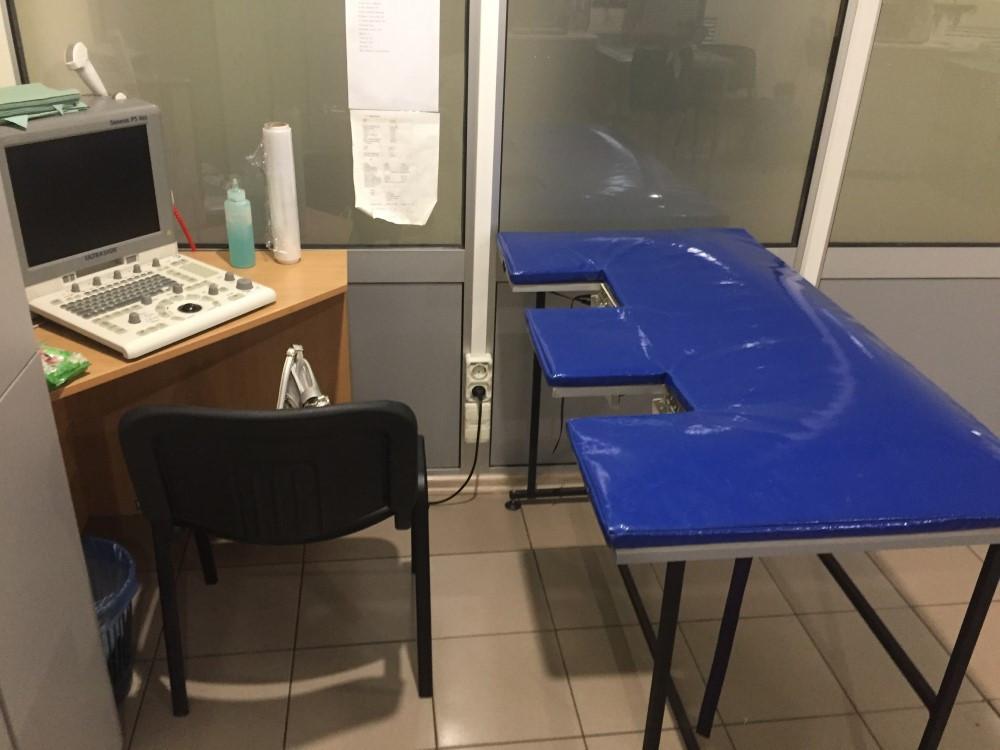 Накладка для ветеринарных столов ЭХО и УЗИ процедур