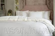 Комплект постельного белья сатин люкс Pepper home евро размер с вышивкой Stella