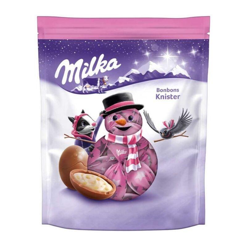 Шоколадные конфеты Milka Bonbons Knister, 86г Швейцария