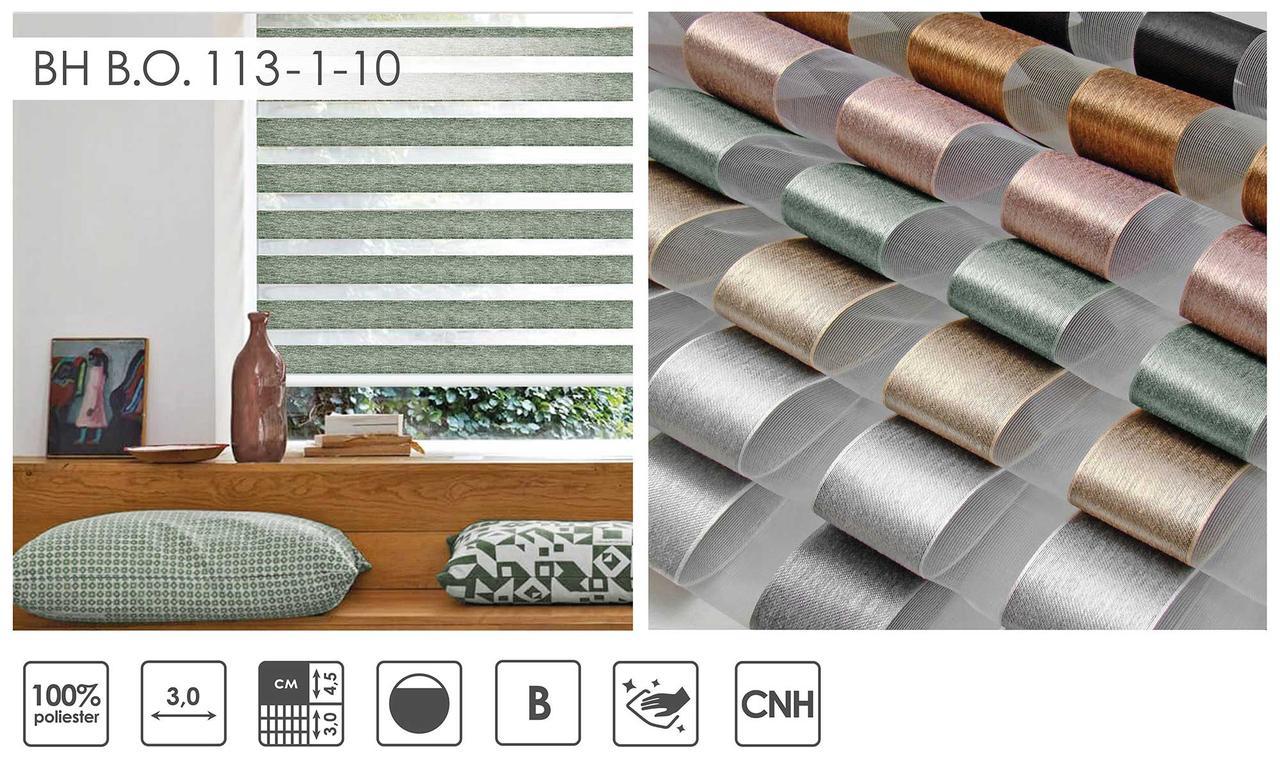 Рулонні штори День-Ніч BH B.O. 113 (7 варіантів кольору)