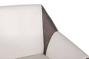 Кресло TOSCANA (61*62*82 см) белый/серый, фото 2
