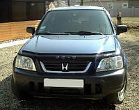 Дефлектор капота (мухобойка) Honda CR-V 1995-2002