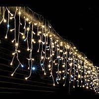 Уличная гирлянда Бахрома (Ø 3,3) 120 LED 4м ТЕПЛЫЙ( RD7118)