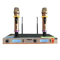 Микрофон  DM UGX X8 II для караоке и вокального исполнения