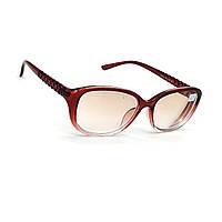 Очки для коррекции зрения с тонированной линзой 504