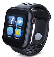 Умные смарт-часы Smart Watch Z6S Black смарт вотч черные