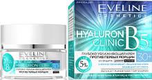 Крем увлажняющий для лица против первых морщин 30+ Hyaluron Clinic В5 Eveline Cosmetics, 50 мл Эвелин