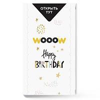 Открытка взрыв Woow cube С Днем рождения с твоими фото взрывающаяся pop up коробкаподарок