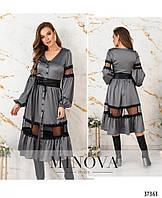 Платье №4114-мокко