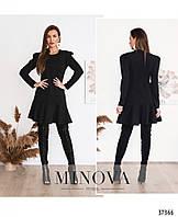 Платье №161Н-черный