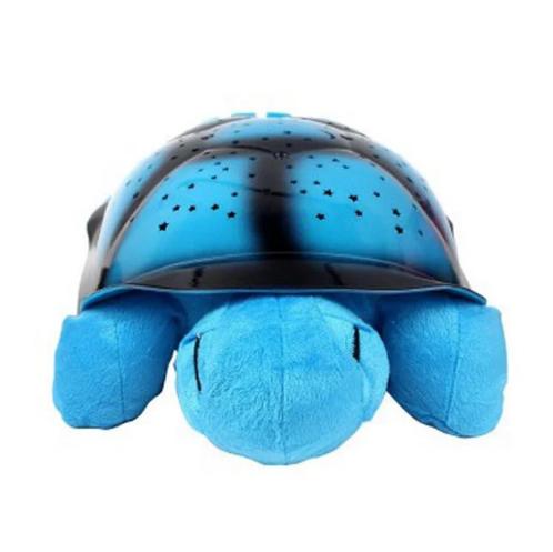 Проектор нічник зоряного неба Черепаха Turtle Night Sky | Синій