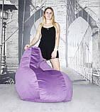 """Кресло мешок """"Шок Велюр"""". Разные цвета., фото 2"""
