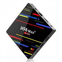 Смарт ТВ-приставка H96 Max+ (4 Gb RAM / 32 Gb Flash), фото 1