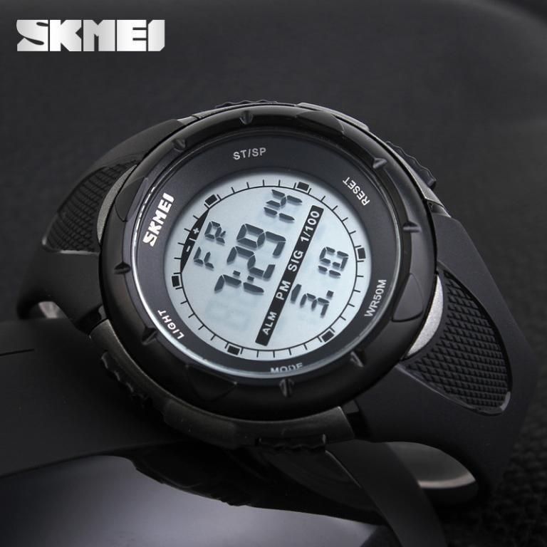 Спортивні годинник SKMEI 1074 (водонепроникні) колір - чорний