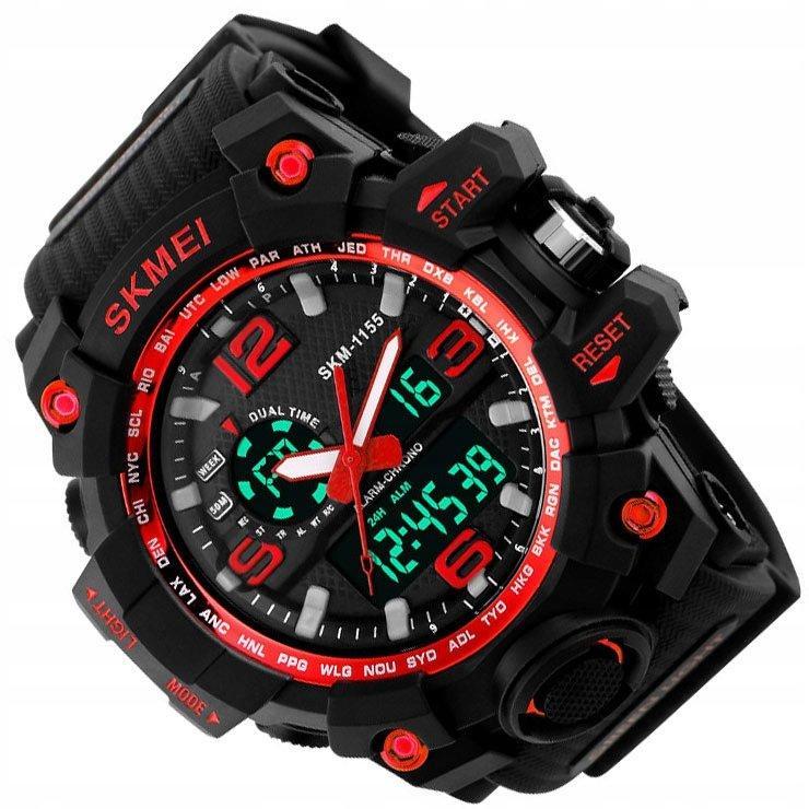 Спортивні годинник SKMEI 1155В (водонепроникні) колір - червоний