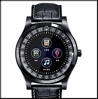 Розумні смарт годинник з bluetooth Lemfo TH88 шкіряний браслет СІМ+Карта памяті, фото 1