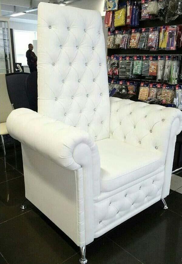 Педикюрне крісло Трон Ice Queen-велика