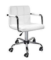 Кресло Артур КО, экокожа, цвет белый колеса, фото 1